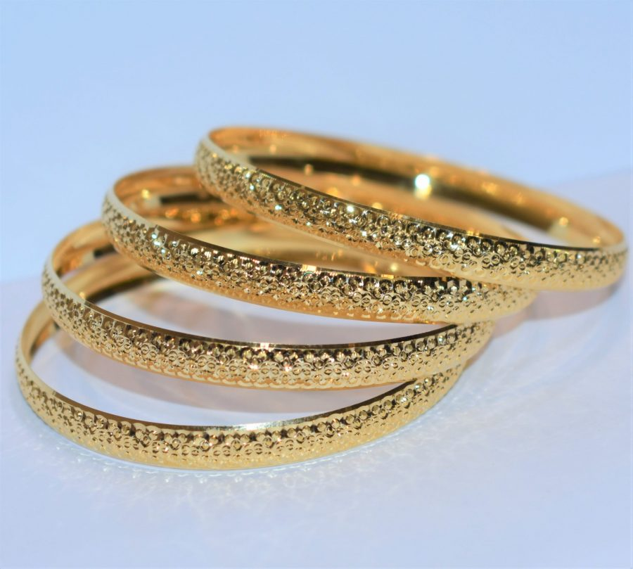النگو طلا زرد