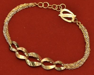 دستبند طلا روبرتو