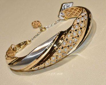 دستبند طلا آوا
