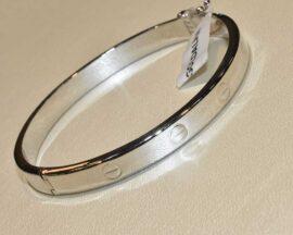 دستبند النگویی کارتیه سفید
