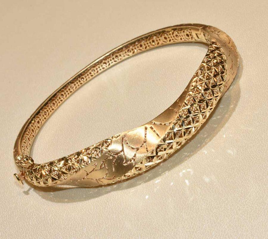 دستبند طلا فیوژن