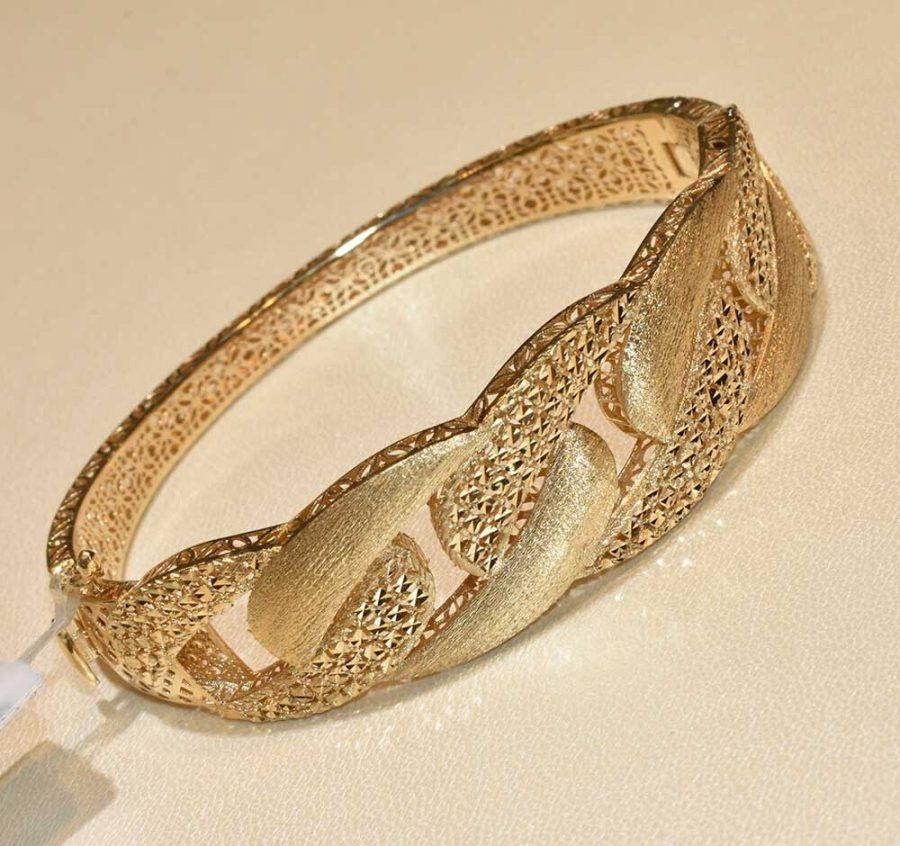 دستبند طلا طرح کارتیه