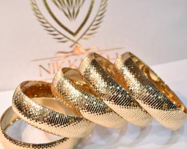 تکپوش طلا آیینه ای
