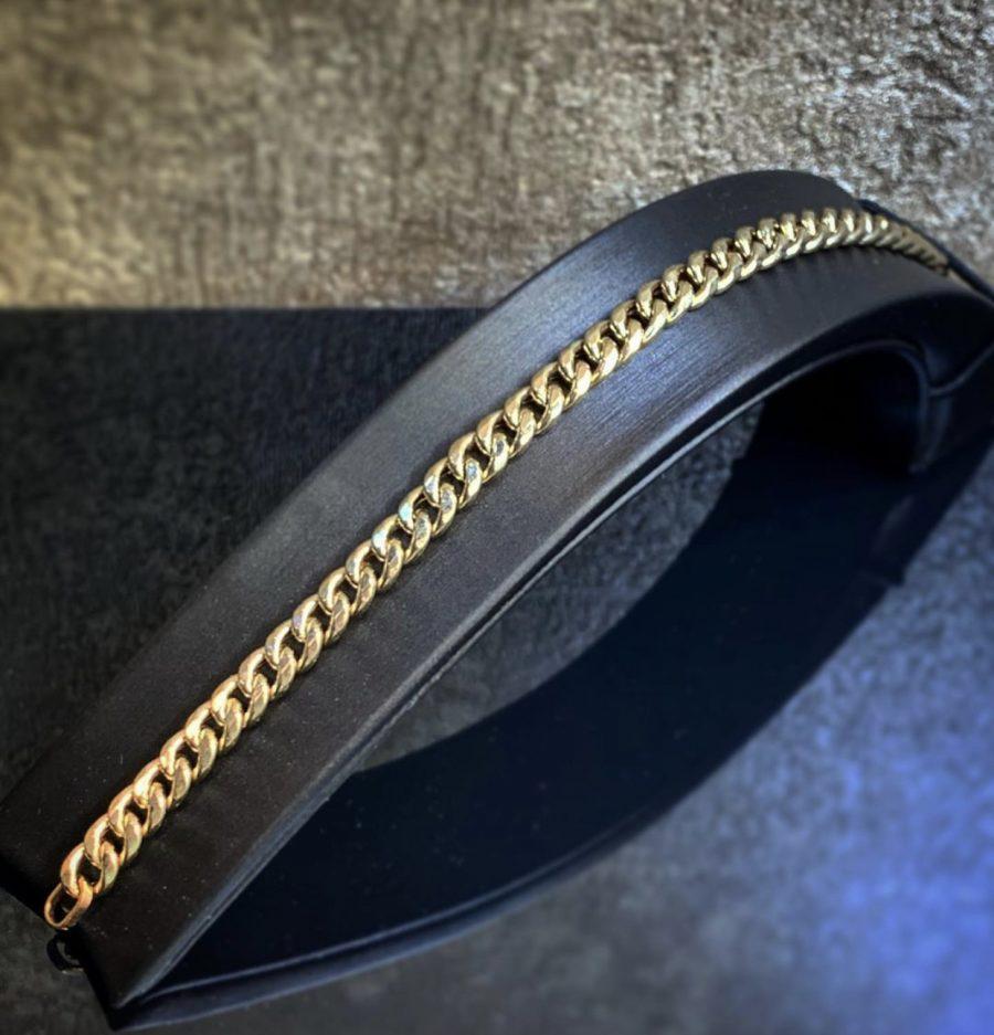 دستبند طلا کارتیر