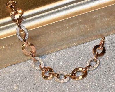 دستبند طلا جتاش رزگلد