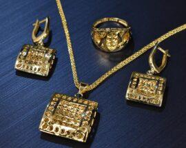 نیمست طلا و زنجیر طلا