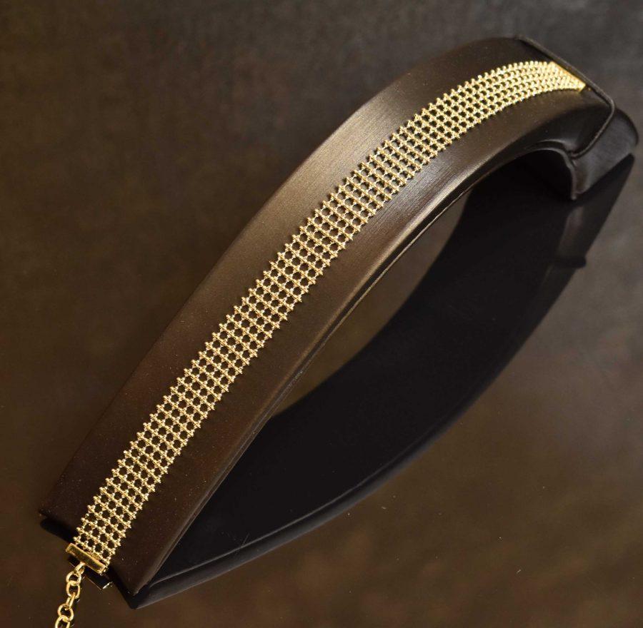 دستبند طلا سوییس گلد