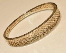 دستبند طلا النگویی فیوژن
