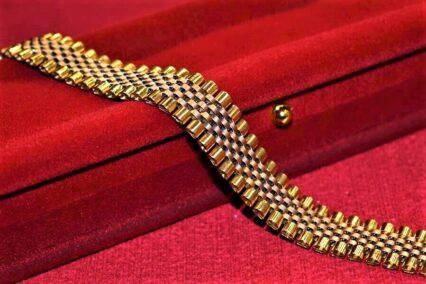 دستبند طلا زنجیری