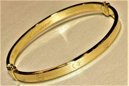 دستبند طلا النگویی
