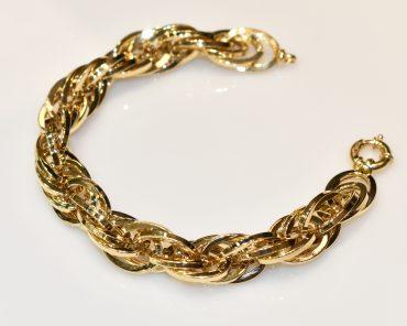 دستبند طلا جتاش ترک