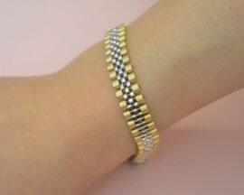 دستبند طلا برند رولکس