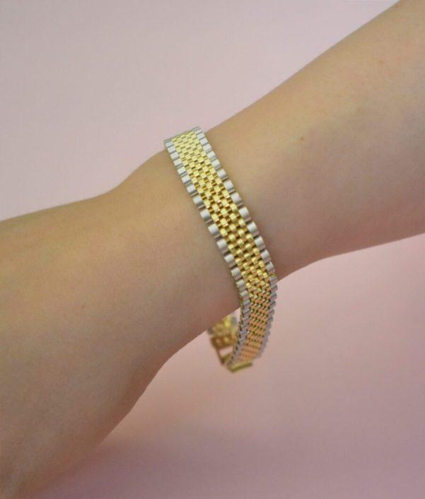 دستبند رولکس طلا