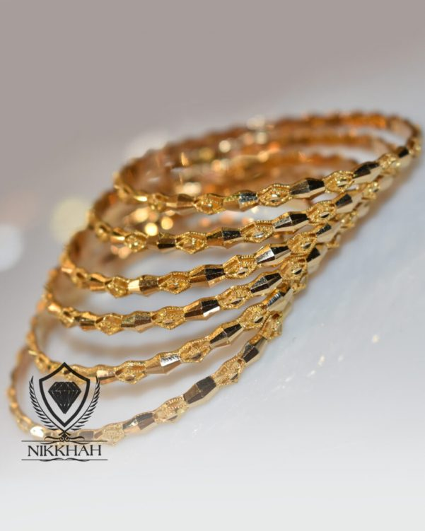 النگو طلا یزدی زرد