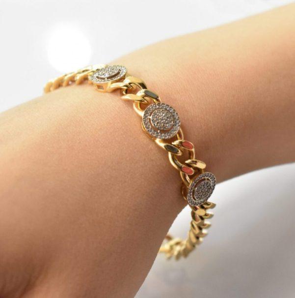 دستبند طلا کارتیه سیوان