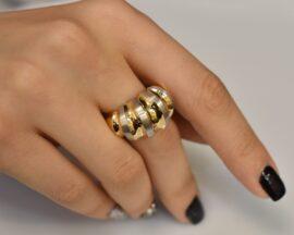 انگشتر طلا فیوژن