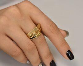 انگشتر طلا لوکس