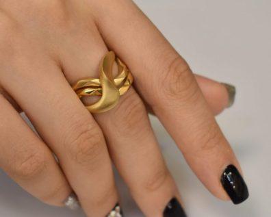انگشتر طلا نایس