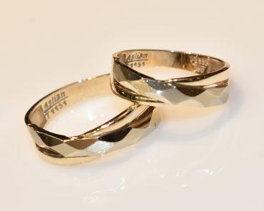 حلقه ست طلا بدون نگین