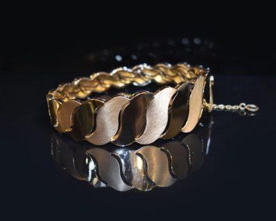 دستبند النگویی طلا برند ریتون