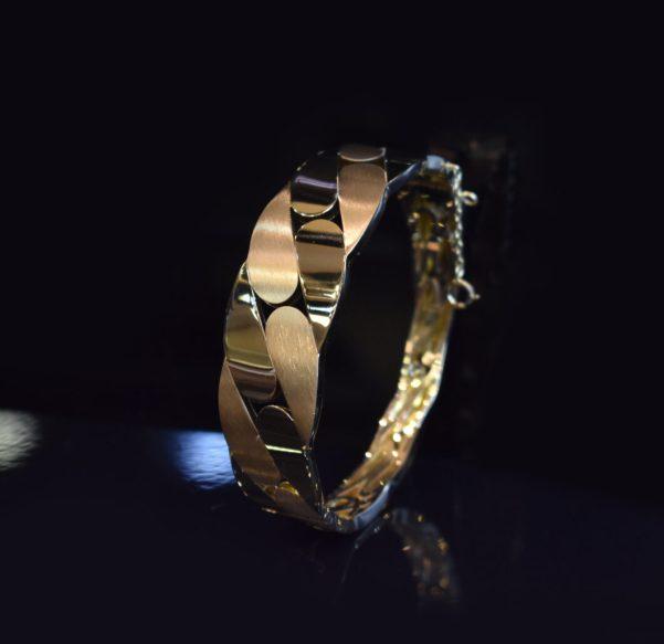 دستبند النگویی طلا ریتون